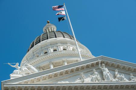 Sacramento Capitol Building in California photo