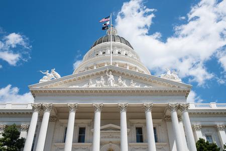 Sacramento State Capitol of California Building photo