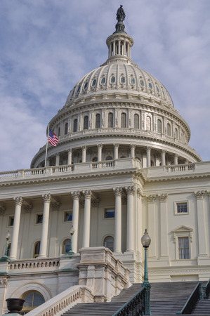 neoclassic: Capitol Hill Building in Washington DC