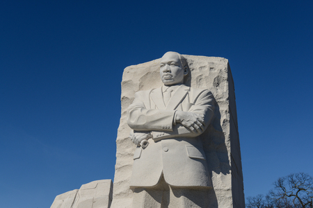 WASHINGTON, DC - FEBRUARY 17: Memorial to Dr. Martin Luther King on February 17, 2013. The memorial is Americas 395th national park.