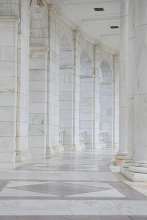 neo classical: Pillars in Hallway Editorial