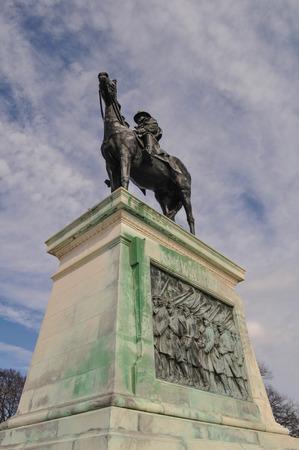 ulysses s  grant: Ulysses S. Grant Memorial in Washington DC Stock Photo