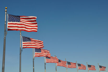 district columbia: US Flags