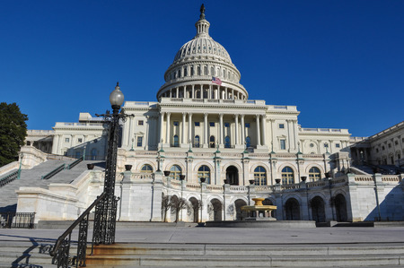 federal states: Capitol Hill Building in Washington DC