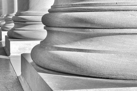 light columns: Pillars Stock Photo