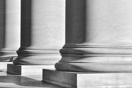 Pillars Stockfoto