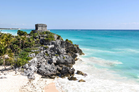 Tulum Mayan Ruins in Mexico photo