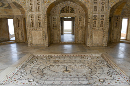 Agra Red Fort in India