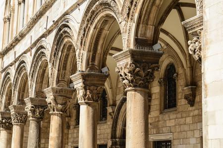 Gothic Stone Pillars photo