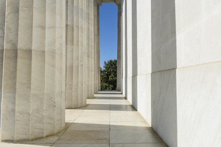 Pillars of the Lincon Memorial photo