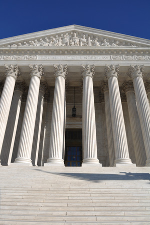 supreme court: Supreme Court of United States Stock Photo
