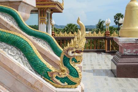 chalong: Phuket Thailand Chalong Wat Dragons