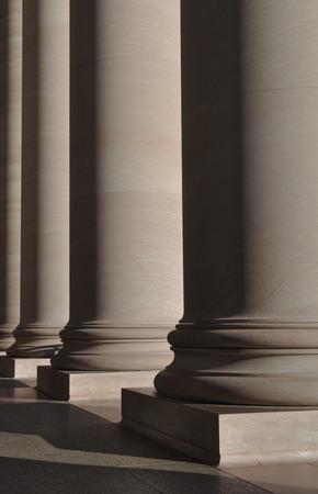 light columns: Stone Pillars