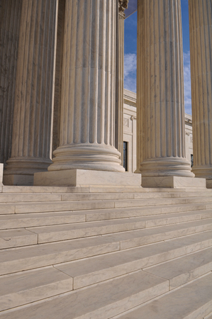 Pillar and Steps of the Supreme Court