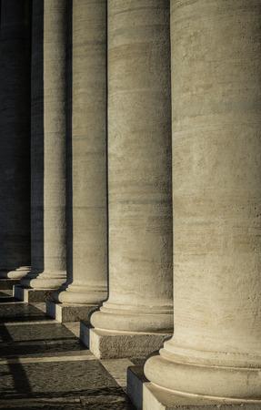 basillica: Stone Pillars at the Vatican