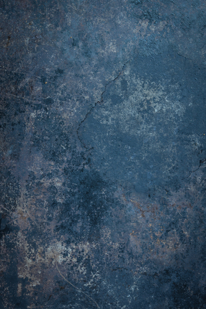 plating: Blue Rustic Metal Background