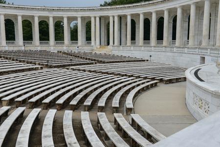 amphitheater: Pillars in an amphitheater