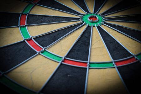 Dartboard Close Up Imagens