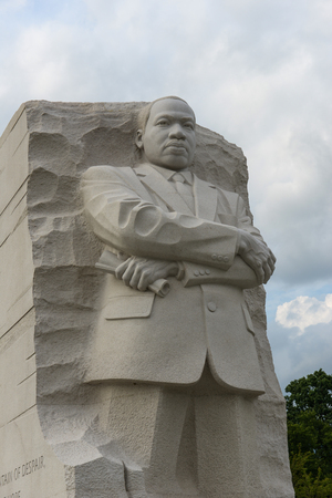 WASHINGTON, DC - AUGUST 20: Memorial to Dr. Martin Luther King on August 20, 2012. The memorial is Americas 395th national park.