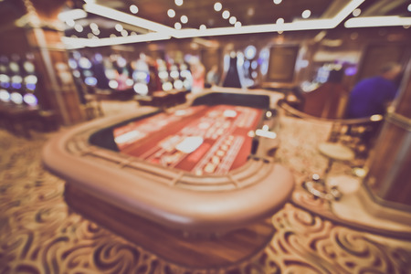 wager: Blurred Craps Table