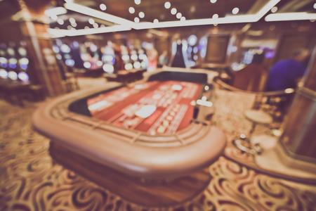 craps: Blurred Craps Table