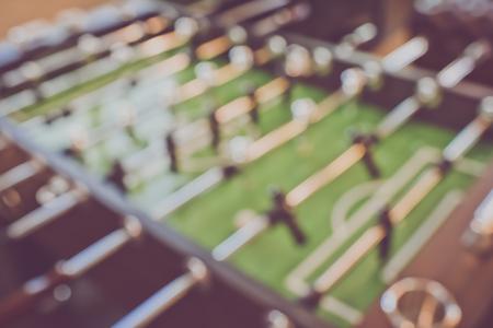 foosball: Blurred Foosball Table