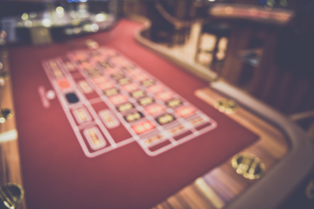 Blurred Craps Table Reklamní fotografie