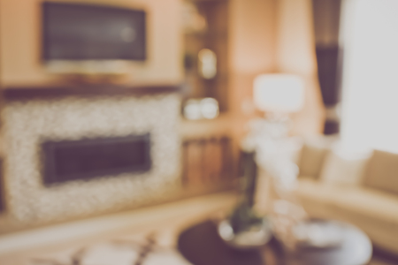 filters: Blurred Living Room with Couches applying Retro