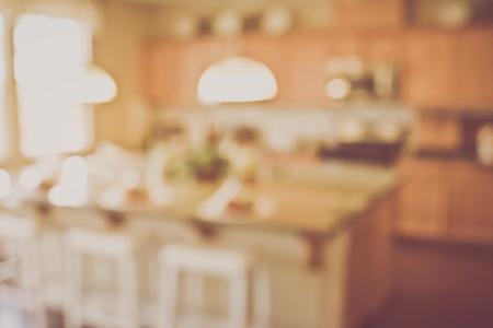 vintage kitchen: Blurred Modern Kitchen