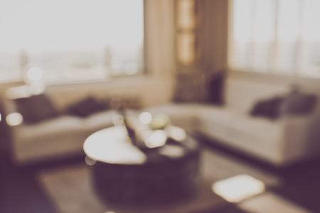 couches: Blurred Living Room with Couches applying Retro