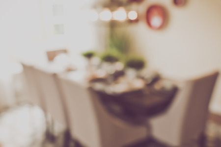 background settings: Blurred Dining Room Table with Retro Filter