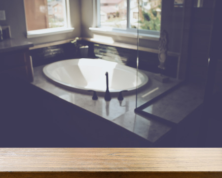 dorm: Blurred Bathroom with Bathtub applying Retro Style Filter