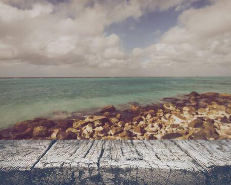 Blurred Ocean Background 版權商用圖片