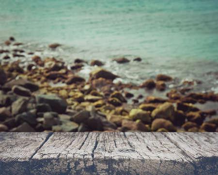 seawater: Blurred Ocean Background Stock Photo