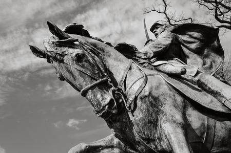 Civil War Memorial 版權商用圖片