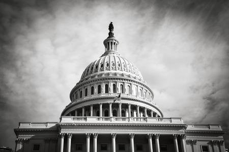 Edificio del Capitolio en Washington DC Foto de archivo