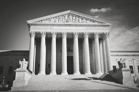 columns: Supreme Court Building