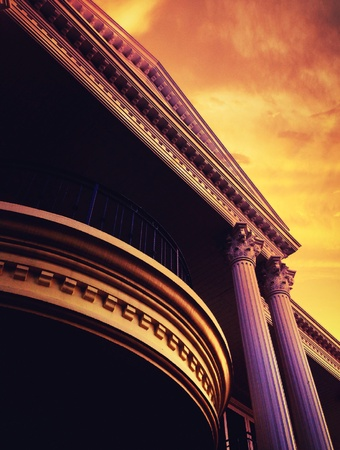 architectural style: Roman architectural style