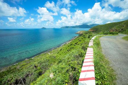 Wonderful landscape on Con Dao island