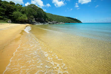 Fabulous beach with crystal clear water on Con Dao island
