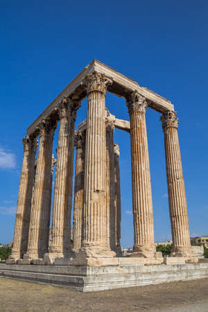 Temple of Olympian Zeus (Olympieion), Athens Greece