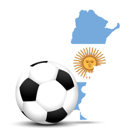 Argentina football Vector