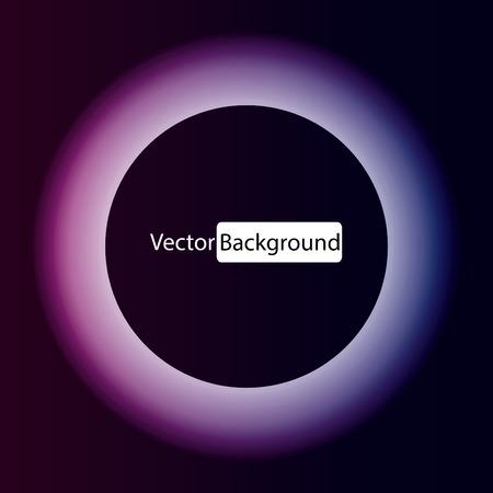 luminous: Circle luminous abstract vector