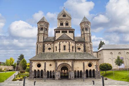 Church in Maria Laach Abbey, Rhineland-Palatinate, Germany