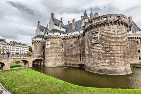 bretagne: Chateau des Ducs de Bretagne in Nantes France Editorial