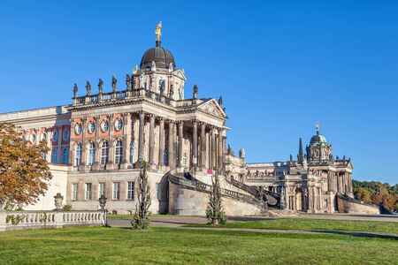 historical buildings: Historical buildings of University of Potsdam, Germany