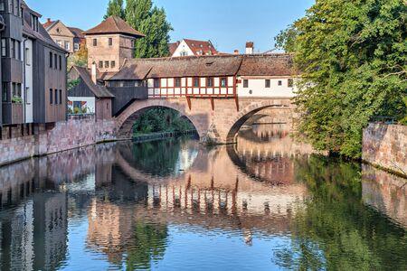 ahorcado: El Ahorcado Puente Henkersteg en Nuremberg, Alemania