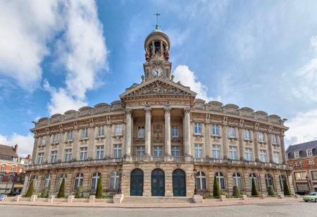 calais: Town Hall (Hotel de Ville) of Cambrai, France Editorial