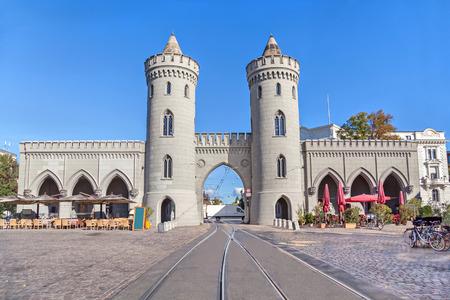 Nauener Tor - historical city gate in Potsdam, Germany