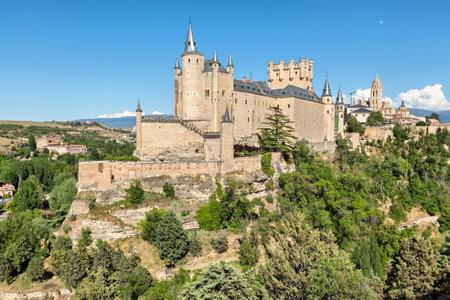 castile and leon: Alcazar de Segovia, Segovia, Castile and Leon, Spain Editorial